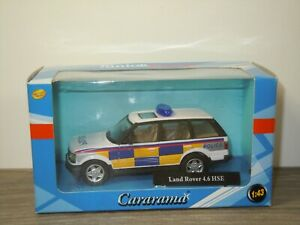 Range Rover 4.6 HSE Police - Cararama 1:43 in Box *53188