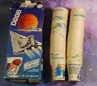 Vintage STAR WARS 1980 Dixie Cups 100 5 OZ R2-D2 Darth Vader C-3PO Slave 1 ESB