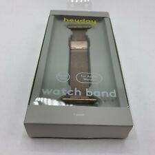 heyday Metal Mesh Band for Apple Watch 38mm / 40mm Gold