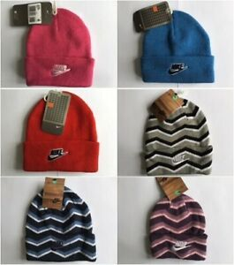 Nike Infants Child  Beanie Hat  Pink ,Blue,Red,Gray,Navy Uk Stock