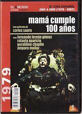 Cine español: MAMÁ CUMPLE 100 AÑOS de Carlos Saura. Edición de diarios.