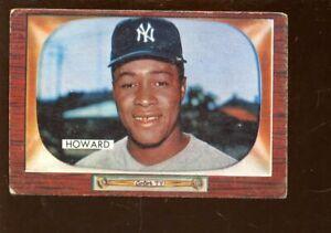 1955 Bowman Baseball Card #68 Elston Howard Rookie New York Yankees