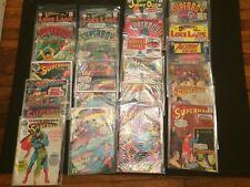 25 Silver Age Superman Comics Lois Lane Action Jimmy Olsen World's Finest VG+