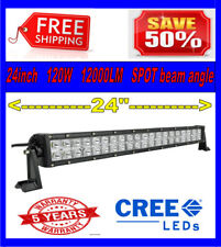 22inch 120w LED Light Bar Work Flood Spot Offroad Truck ATV Driving SUV 4WD 24""