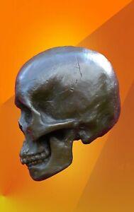 ART SKULL BRONZE STATUE ABSTRACT HOT CAST MALE SCULPTURE MODERN ARTS