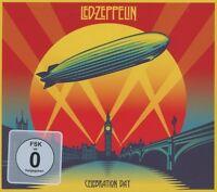 LED ZEPPELIN - CELEBRATION DAY 2 CD + 2 DVD HARD ROCK NEU
