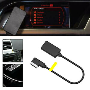 For Audi A6 Q5 3G MMI AMI Bluetooth Music Interface Audio Cable Adapter 2010-