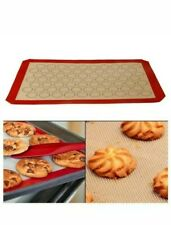 Nonstick Silicone Mat Baking Oven Pastry Liner Macaron Cake Sheet set of 2