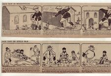 Jack Daw by Leslie Elton - Fantasy, 24 large 6 col. daily comic strips Jan. 1923