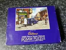 Gibson's Puzzles Cadbury's The Sweet Shop 1000 Piece Jigsaw Puzzle