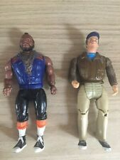 The A-Team Galoob Action Figures
