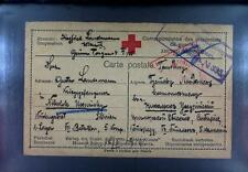Camp 1915 Russia Siberia POW Kriegsgefangenenpost Rotes Kreuz Red Cross 153