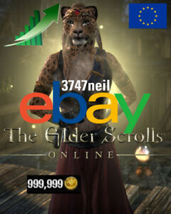 THE ELDER SCROLLS ONLINE ESO TESO GOLD 500K-50000K - PC EU SERVER - CHEAP/FAST