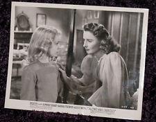 The TWO MRS. CARROLLS 1947 LOBBY/MEDIA B/W Promotional PHOTO #2 BARBARA STANWYCK