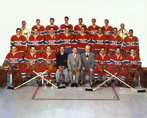 Montreal Canadiens 1953-54 - 8x10 Color Team Photo