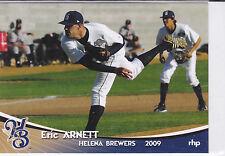 Eric Arnett Milwaukee Brewers 2009 Helena Brewers Card