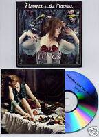 FLORENCE + THE MACHINE Lungs UK numbered 13-tk promo test CD card slv
