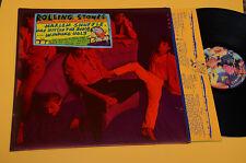ROLLING STONES LP HARLEM SHUFFLE...1°ST ORIG 1986 EX CON CELLOPHAN STIKER+INNER
