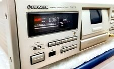 Pioneer T-1100S CT95 Deluxe 3 Heads Audiophile Tape Deck BCS HX Pro Serviced
