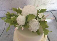 Sugar Peony Flower Cake topper