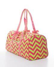 Pink & Green Duffle Bag-Cheer bag -Overnight Bag- NEW ARRIVAL!