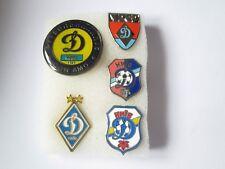 """j1 lotto 5 pins lot FC DYNAMO KYIV FC club spilla football pins ФК """"Динамо"""" Київ"""