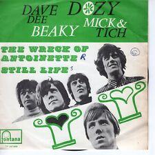 7inch DAVE DEE DOZY BEAKY MICK & TICH the wreck of antoinette BELIUM EX (S0835)