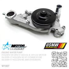 US MOTOR WORKS WATER PUMP V8 GEN IV LS2 6.0L [06/2009-15 HOLDEN VE-VF COMMODORE]