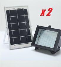 2018 Bizlander Solar Light industrial Grade 60 LED Flood Light X2 Pack
