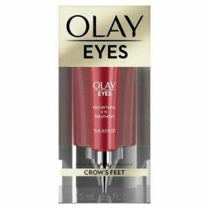 Olay Eyes Pro-Retinol Eye Treatment for Crow's Feet 15ml/0.5oz - New - Free Ship