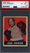 1948 Leaf Boxing #17 Jack Johnson PSA 6.5 *685225