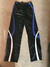 GTM Sportswear Girl's Size YL  Gymnastics Warm Up pants Black Fleece Lined