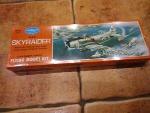 Guillows balsa A1-H Skyraider kit - NEW SEALED MODEL KIT 904
