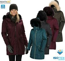 Regatta Ladies LEXIA Insulated Waterproof Breathable Jacket Coat Womens ISOTEX