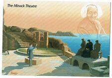 CORNISH POST CARD ART CARD BY RON PREEDY THE MINACK THEATRE