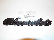 64 1964 Chevy Chevrolet Impala Belair Biscayne Grille Emblem Script w/ screws
