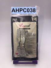 PINCCAT  HAIR GEMS 2 COUNT FANCY FASHION BANANA  HAIR COMB CLIPS AHPC038