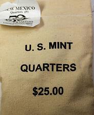 2008 New Mexico-P State Quarter BU Mint Sealed Bag- 100 Coins