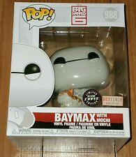 Funko Pop Disney #988 Baymax With Mochi Big Hero 6 Glow in Dark Chase Box Lunch