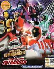 Kaitou Sentai Lupinranger VS Keisatsu Sentai Patranger DVD (English Subtitle)