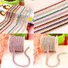 5Yard 3Row Crystal Rhinestone Close Chain Trim Claw Chain DIY Jewelry Craft Deco
