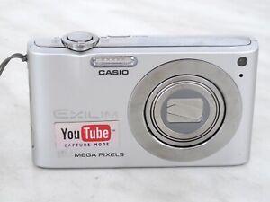 Casio EXILIM ZOOM EX-Z100 10,1 MP Digitalkamera,  Silber