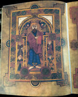 Book of Kells & Lindisfarne Gospels matching facsimile set