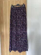New Look Tall Floral Maxi Skirt Size 14