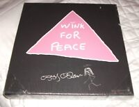 WHATEVER IT TAKES CANVAS DESIGNED BY OZZY OSBOURNE 'WINK FOR PEACE' NEW LTD ED
