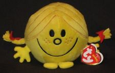 TY LITTLE MISS SUNSHINE BEANIE BABY - MR MEN & LITTLE MISS - UK EXCLUSIVE - NEW