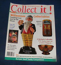 COLLECT IT! ISSUE 18 DECEMBER 1998 - JUKEBOXES/FURBY/WEDGWOOD FAIRYLAND