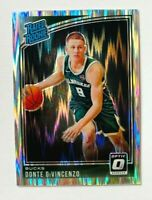2018-19 Donruss Optic Donte DiVincenzo RC #164, Optic Shock Prizm, Bucks Rookie!