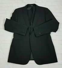Paul Smith Men's Sport Coat Jacket 'Gents Jacket' Black 1-Button Slim Fit Sz 44R