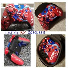 XBOX  ONE ELITE WIRELESS CONTROLLER CUSTOM SPIDER-MAN WITH SCUF W/RED LED